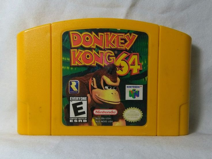 Donkey Kong 64 (Nintendo 64, 1999) CARTRIDGE! MAIL IT TOMORROW! DK N64   eBay