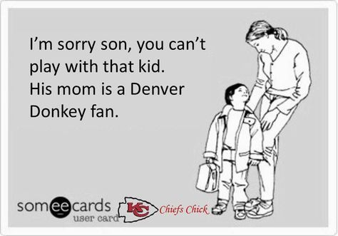 Denver Donkeys! Bronco's Suck | Chiefs | Pinterest | Denver ...