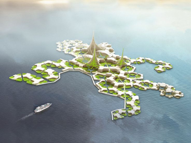 Water worlds  A proposal for a floating city in French Polynesia is a corporate adaptation of past utopias for ocean living