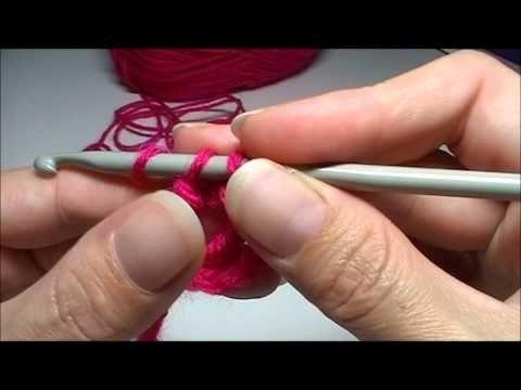 """Basis: Dubbel stokje haken, via het kanaal """"Handwerkles"""" @ Youtube ✤ Het Haak Orakel ✤ www.pinterest.com... ✤ #crochet #free #pattern"""