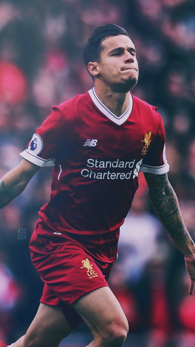 Philippe Coutinho, Liverpool FC. 433 (@433DZN) | Twitter