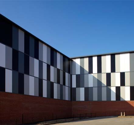 33 Best Industrial Buildings Cladding Projects Images On