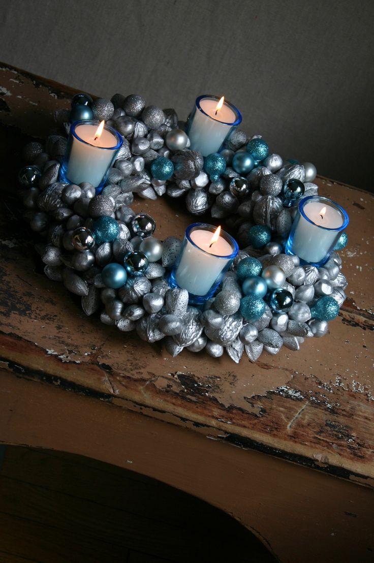 Advent Wreath Decorations 17 Best Ideas About Diy Advent Wreath On Pinterest Advent