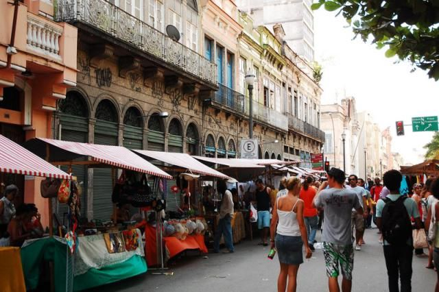 The antiques fair (Feira do Rio Antigo) on Rua do Lavradio, Lapa is one of the best things to do in Rio de Janeiro, every first Saturday of the month. February 6th.
