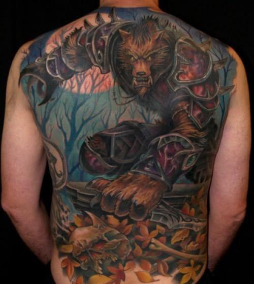 world of warcraft panda tattoo | World of Warcraft Tattoo, wolf, world of warcraft, tattoos, tattoo ...