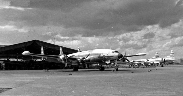 Real Aerovias PP- YSB L1049 Super H Constellation at CGH