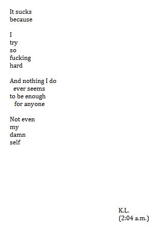 This Exactly This And Im Just So Tired I Need Someone To Be