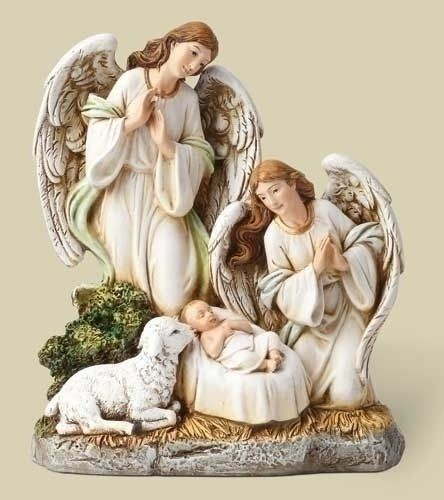65AngelsLamb With Jesus Figure by Roman * This is an Amazon Affiliate link. You can find more details by visiting the image link.
