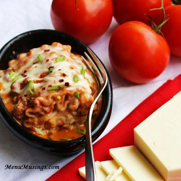 Lasagna Rollata Al Forno - Individual Lasagna Rolls with Italian ...