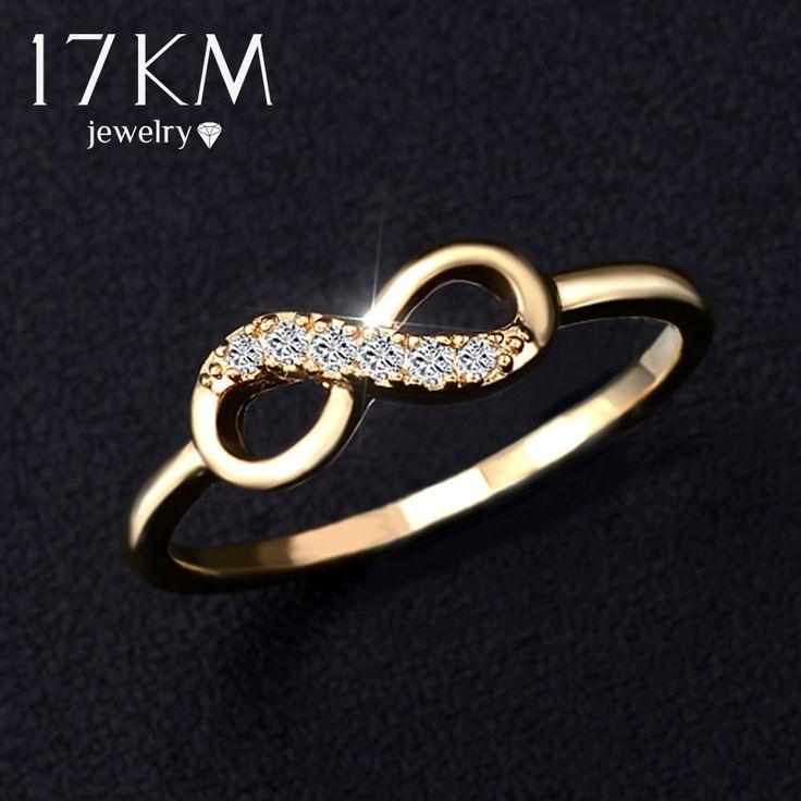 Дешевое 17 км бренд подлинной кольцо лучшие друзья оптовая продажа кристалл крест бесконечность кольца золото платина покрыли ювелирные изделия друзья подарки, Купить Качество Кольца непосредственно из китайских фирмах-поставщиках:                          17KM Brand Genuine Ring Best Friends Wholesale Crystal Cross Infinity Rings G