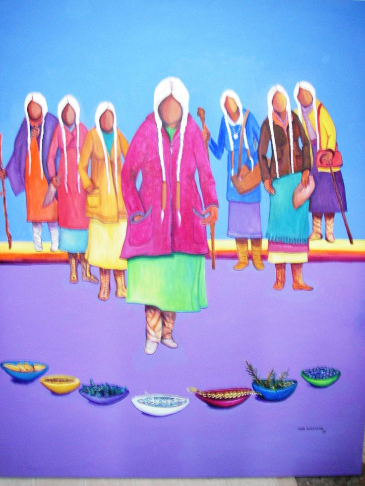 grandmothers of the directions  by jane shepherd greywolf2@live.ca