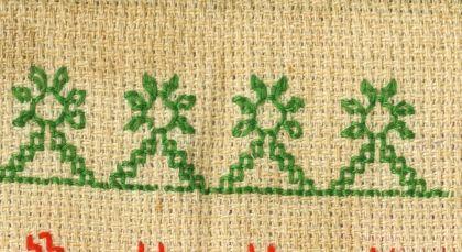 Embroidary Borders | Hand Embroidered | Kashida | Kasuti