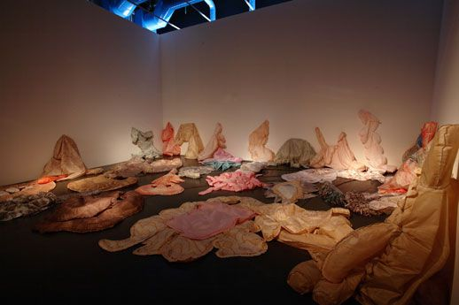 "Annette Messager ""Inflated, Deflated"" 2006"
