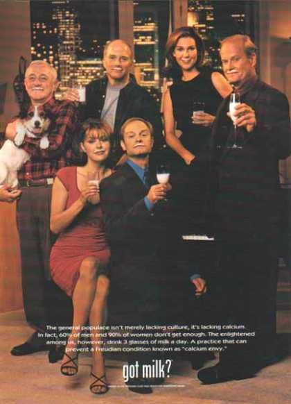 FRASIER – Got Milk? (1998)