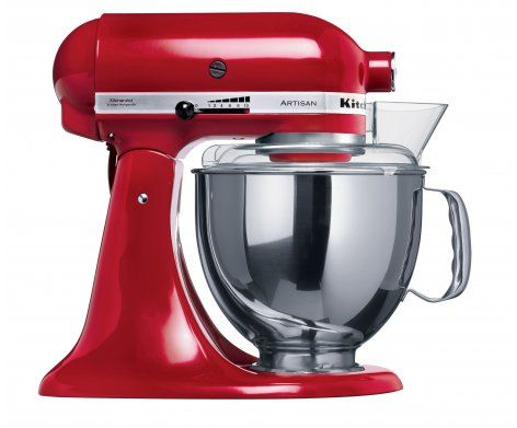 I have been dreaming of a Kitchenaid KSM150 Artisan Stand Mixer in Empire Red ...