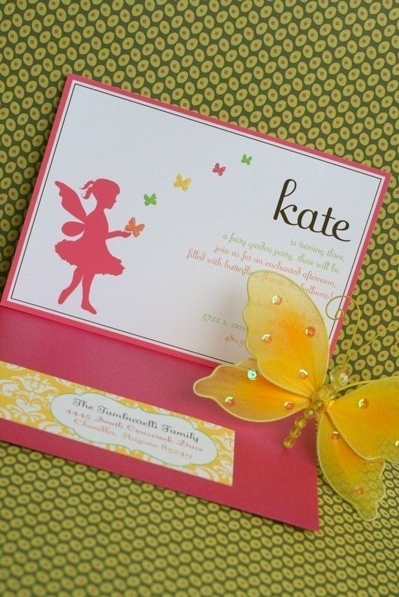 best 25 fairy party invitations ideas that