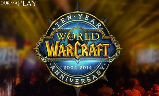 World of Warcraft'ın 10  Yıl dönümü kutlamak amacıyla bu yıl gerçekleştirilen etkinlikler hız kesmeden devam ediyor http://www.durmaplay.com/News/world-of-warcraft-onuncu-yil-kutlamalari