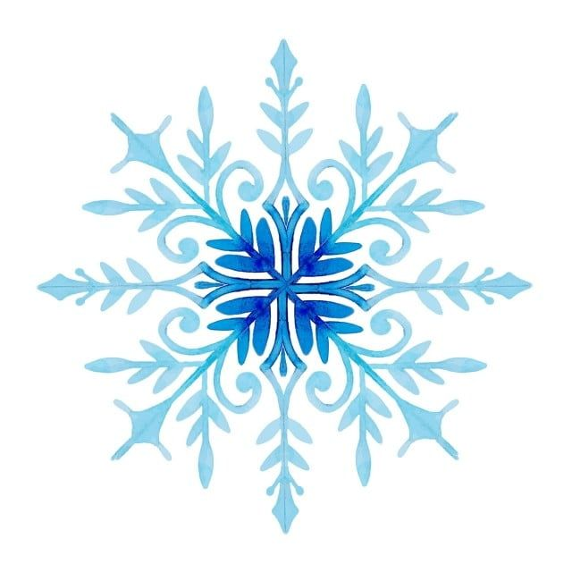 Watercolor Christmas Snowflakes Snowflake Clipart Color Colorful Png And Vector With Transparent Background For Free Download Acuarela De Navidad Copos De Nieve Png Copos De Nieve
