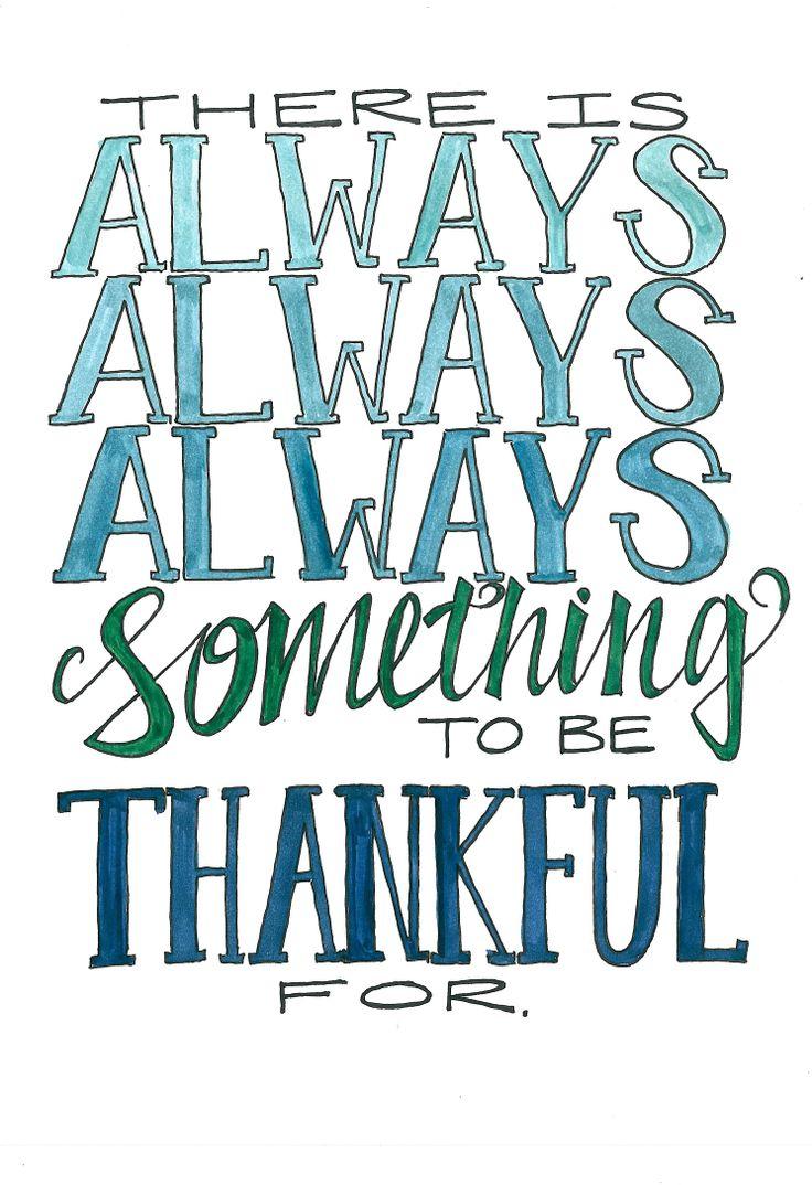 Always always always!  One of my favorite sayings!!!!!!