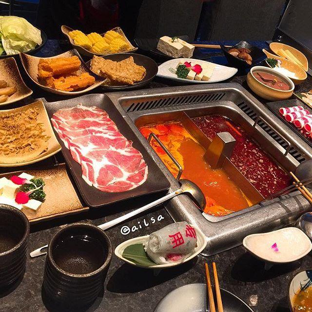 嗯⋯一個睡前肚子空虛的概念😴 辣辣的海底撈~😆 #good #food #料理 #美食 #seafood #yum #yummy#delicious #晚餐 #apple #美味しい #party#dinner #晩御飯 #夕食 #2017#乾杯#fish#美味#happiness #贅沢#楽しい#肉 #love #goodnight #🌶 #nice #yeah #pics #spicy
