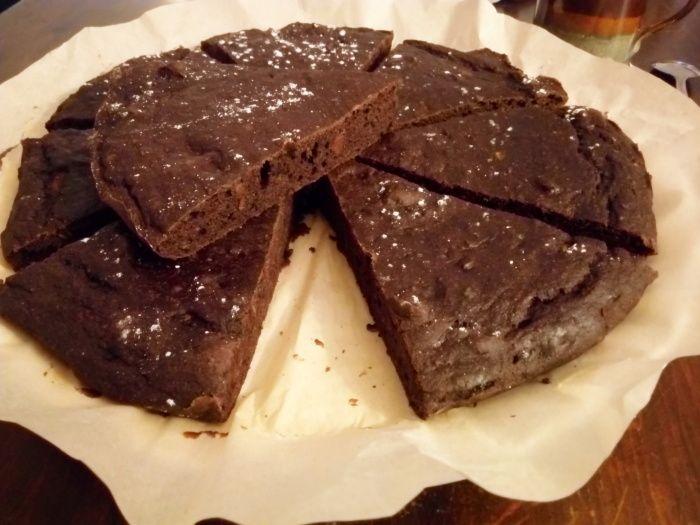 banánové brownies s datlemi