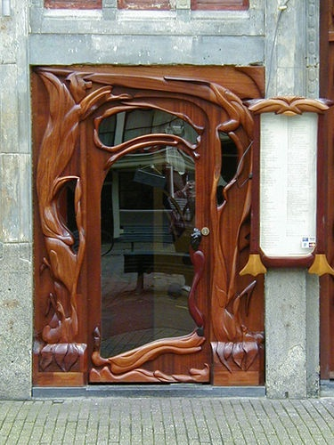 Druidic Door - That's what it says, but it looks a lot like Art Nouveau with that whiplash design, so not sure. Nonetheless, beautiful!!!