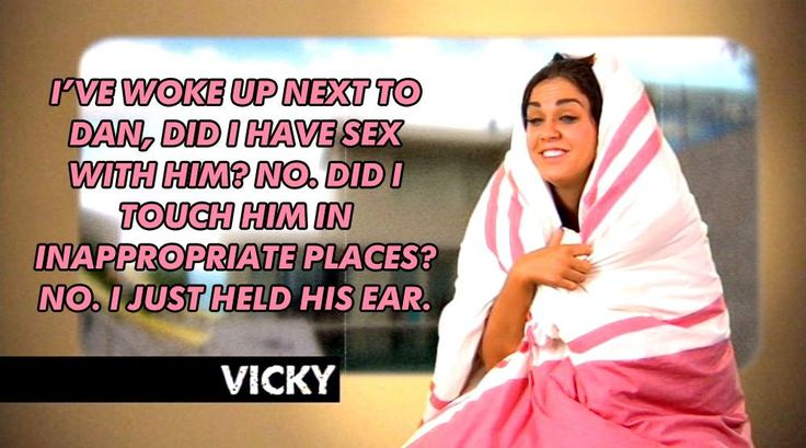 Geordie shore. Geordie shore quote. Vicky.