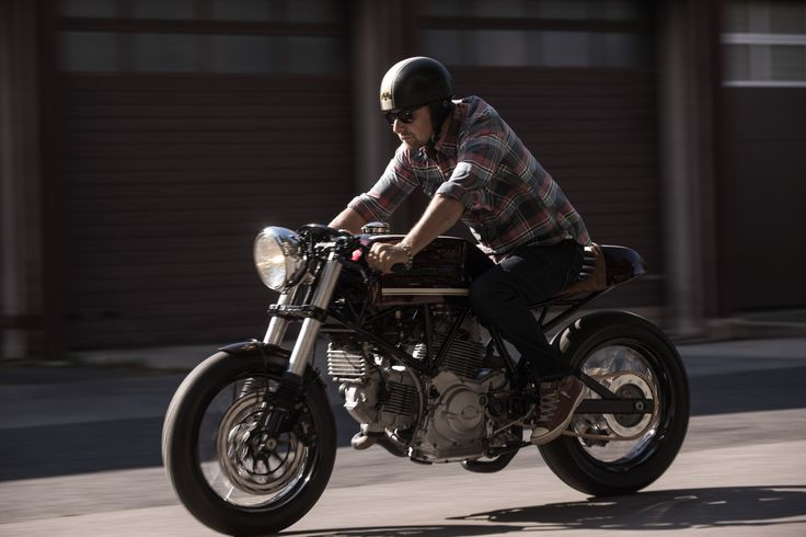 Feri's Ducati SuperSport 750 - A Cafe Racer In Its Most Elemental Form #Ducati #CustomMotorcycles
