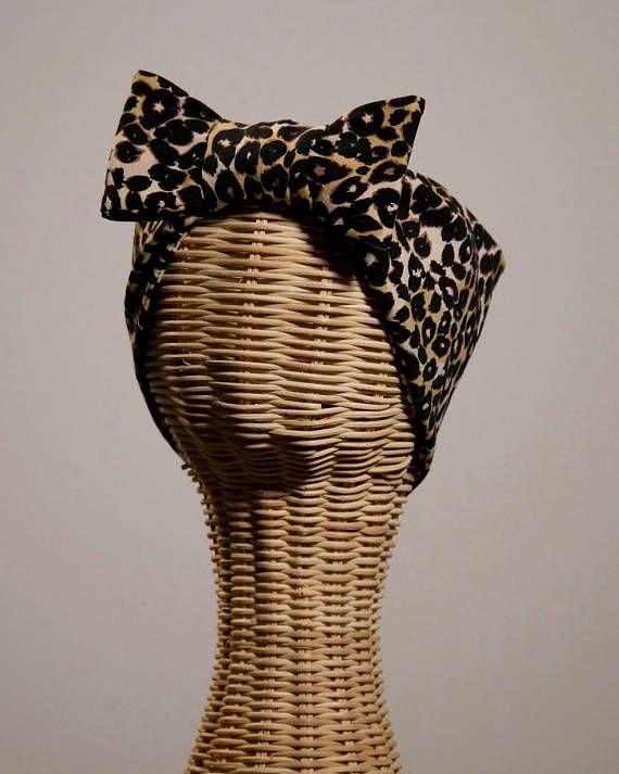Bandalina Headband Leopard