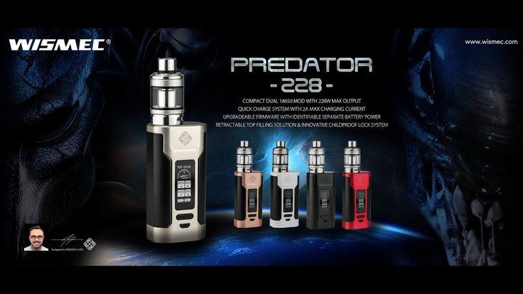 Wismec Predator 228 Mod And Elabo Tank - SlideShow