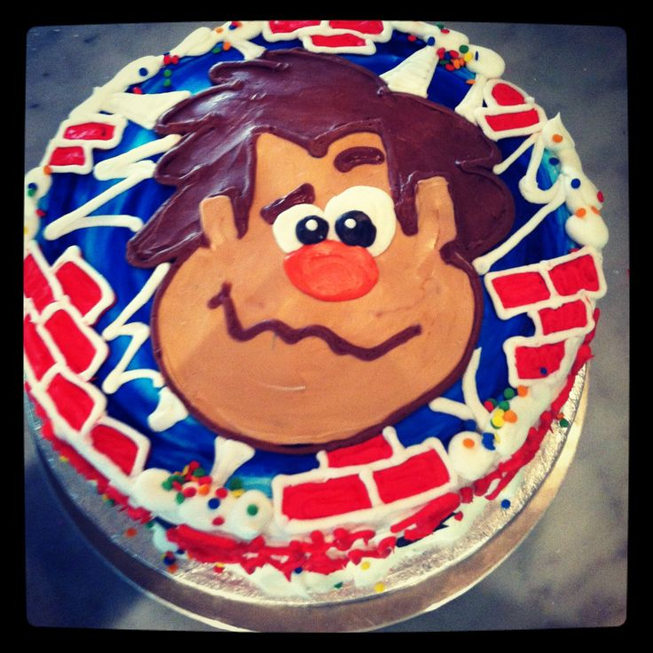 Wreck It Ralph Cake Figures