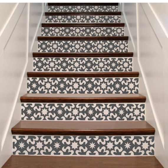 The 25 Best Stair Risers Ideas On Pinterest Painted