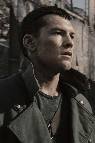 Marcus in Terminator (played by Sam Worthington)