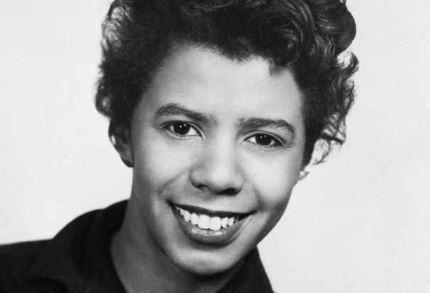 "Lorraine Hansberry (1930-1965) pictured in 1959 shortly after her play ""A Raisin in the Sun"" premiered on Broadway. She was the first African-American woman playwright to have a play produced on Broadway. (Photo Credit: Corbis)"