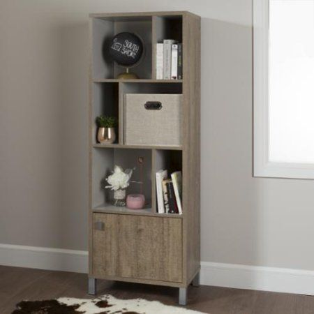 South Shore Furniture  Expoz 6-cube Shelving Unit with Door