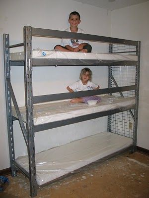 Diy Triple Bunk Beds Woodworking Projects Amp Plans