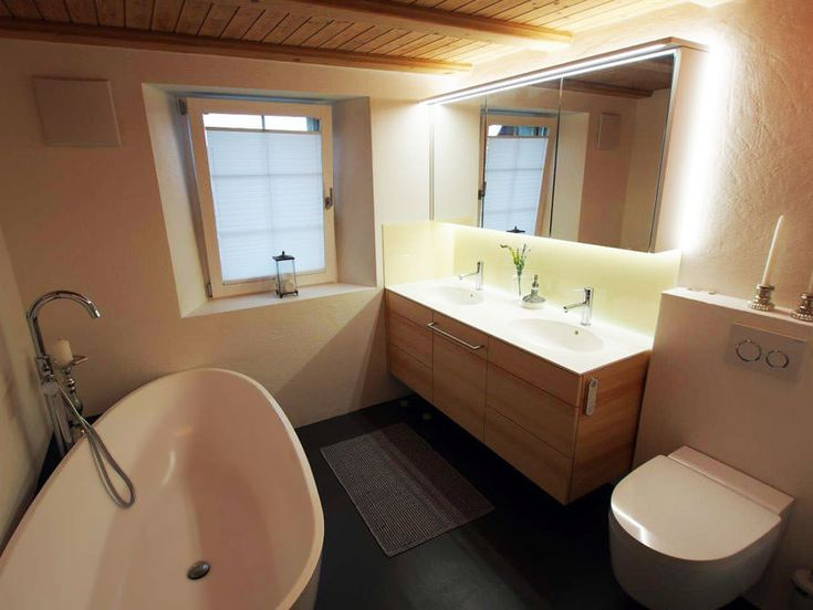 Badezimmer spiegelleuchte ~ Led im badezimmer badezimmer ideen design und bilder badezimmer