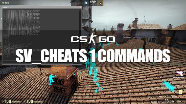 CS GO Console Commands Guide for Practice/Konsol Komutları/Cheats-Tricks