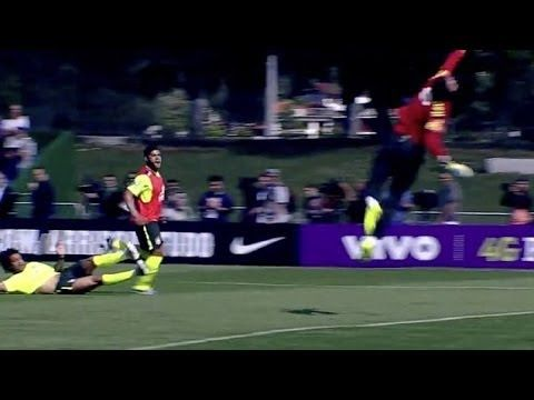 Hulk Fantastic Goal in Brazil training 2014 ~ World Cup 2014 HD