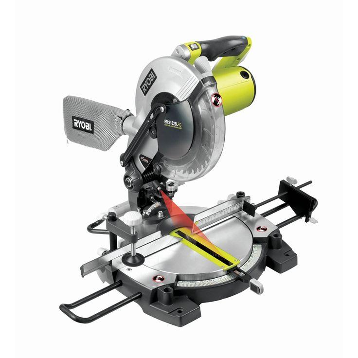 Ryobi 1800W 254mm Corded Laser Compound Mitre Saw