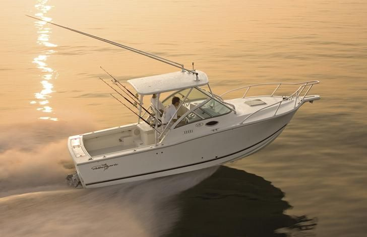 Good weather starts and the time that you are thinking about buying boats. That's why we present you another excellent model 268 Express Fisherman - Albemarle. If you like fishing, really worth a look at this model ...   Specification  Length