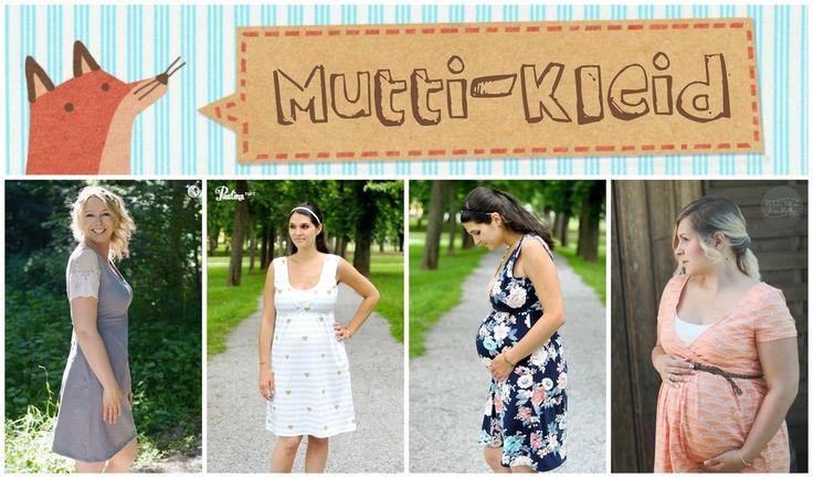 """eBook """"Mutti Kleid"""" von Annas-Country. Wunderschönes Kleid für Schwangere und stillende Mütter - Umstandsmode - Maxikleid zum Nähen Anleitung & Schnittmuster"""