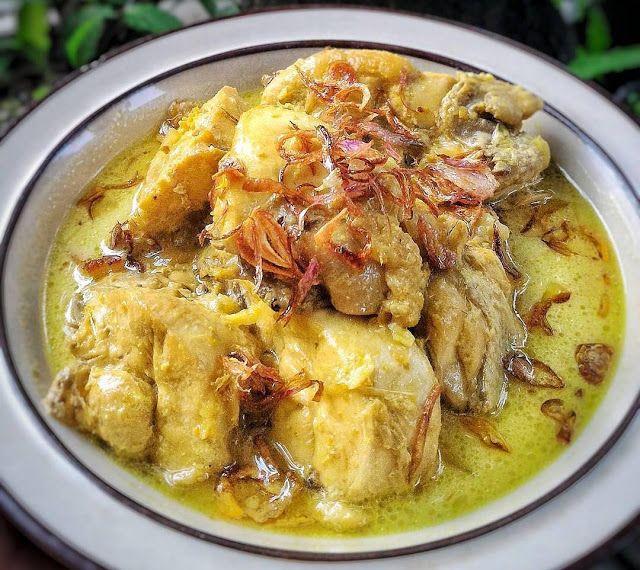 Resep Masakan Opor Ayam Kuning Sederhana Ala Rumahan Resep Ayam Resep Masakan Masakan