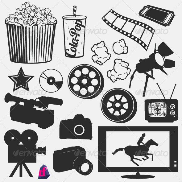 Movie Silhouettes | FCC VBS 2014 | Pinterest
