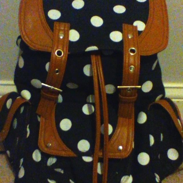 Girly backpack for school