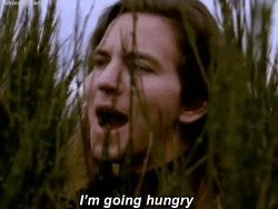 Image result for chris cornell and eddie vedder made a video going hungry gifs