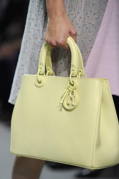 Borse Dior primavera estate 2013 - #bags #dior #green