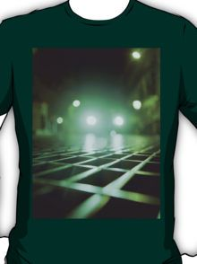 Grid city streets Hasselblad square medium format analogue film photograph T-Shirt
