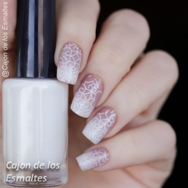 Grandient / ombre nails  Nude and pink