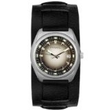 Men's Black Leather Luminous (Watch)By Fossil